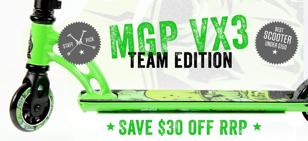 MGP VX3 TEAM EDITION - other colours available